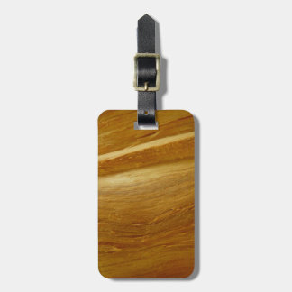 Pine Wood II Faux Wooden Texture Bag Tag