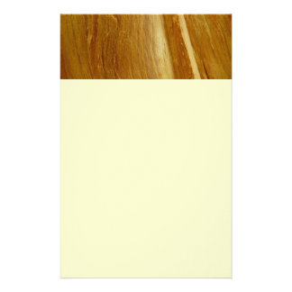 Pine Wood II Faux Wooden Texture Custom Stationery