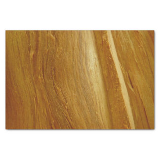 Pine Wood II Faux Wooden Texture Tissue Paper