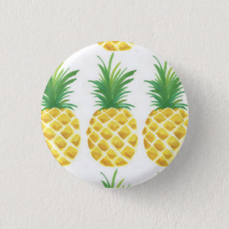 Pineapple 3 Cm Round Badge