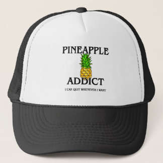 Pineapple Addict Trucker Hat