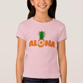Pineapple Aloha - Summer T Shirt for Girls