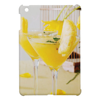 Pineapple and ginger Fresca cocktail iPad Mini Covers