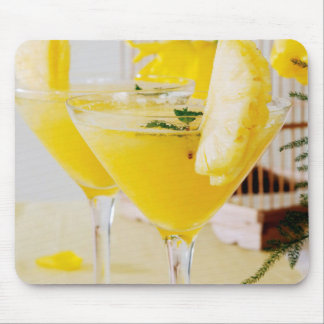 Pineapple and ginger Fresca cocktail Mouse Pad