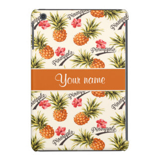 Pineapple and Hibiscus iPad Mini Cover