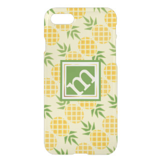Pineapple Angled Pattern, Changeable Background iPhone 8/7 Case