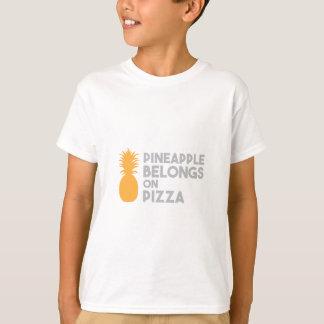 Pineapple Belongs On Pizza T-Shirt