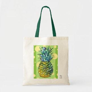 Pineapple Budget Tote Bag