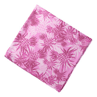 Pineapple Camo Hawaiian Aloha Shirt Bandana