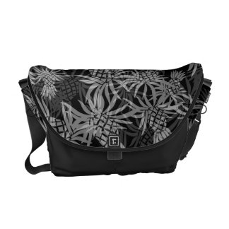 Pineapple Camo Hawaiian Messenger Bag
