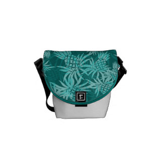 Pineapple Camo Hawaiian Mini Messenger Bag