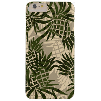 Pineapple Camo Hawaiian Tropical Barely There iPhone 6 Plus Case