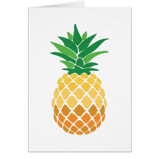 Pineapple Greeting Card