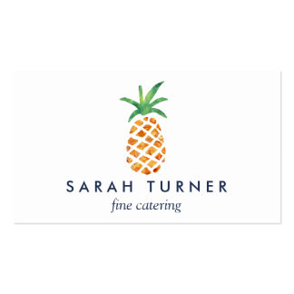 Pineapple Caterer Hospitality Pack Of Standard Business Cards