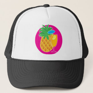 Pineapple Cocktail Trucker Hat