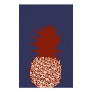 Pineapple Custom Stationery