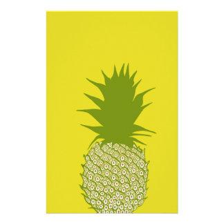 Pineapple Customised Stationery