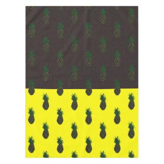 Pineapple (Dark Chocolate + Yellow) Tablecloth