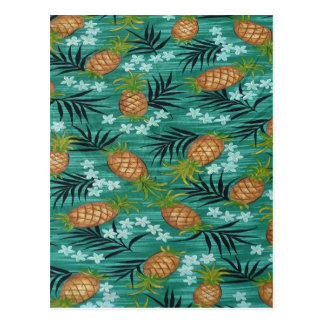 Pineapple Delight Postcard