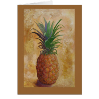 Pineapple Design Card