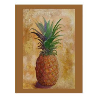 Pineapple Design Post Card