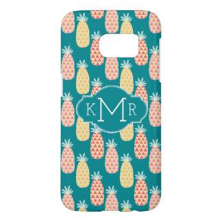 Pineapple Doodle Pattern | Monogram