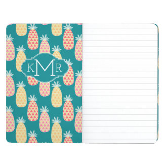 Pineapple Doodle Pattern | Monogram Journal
