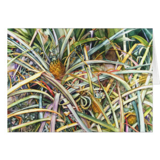 Pineapple Fields  2.95 Card