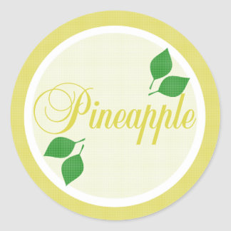 Pineapple Fruit Label Sticker