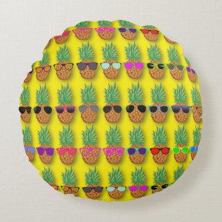 Pineapple Fun! Round Cushion