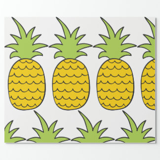 Pineapple Gift Wrap