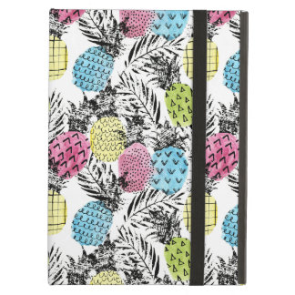 Pineapple Grunge Palms iPad Air Cover