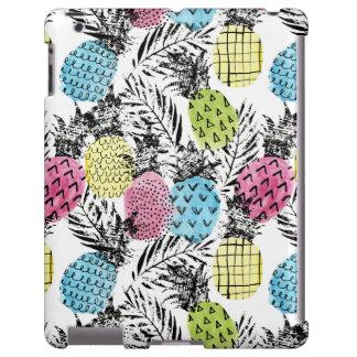 Pineapple Grunge Palms iPad Case