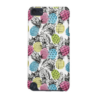 Pineapple Grunge Palms iPod Touch (5th Generation) Cover