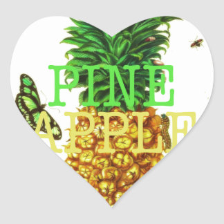 Pineapple Heart Sticker