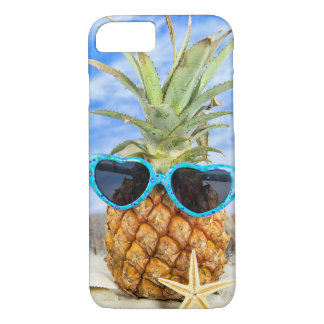 pineapple in sunglasses iPhone 8/7 case
