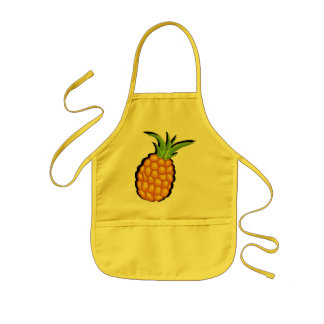 pineapple kids apron