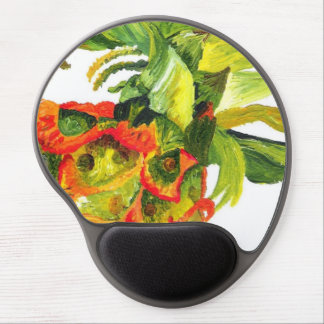 Pineapple (Kimberly Turnbull Art) Gel Mouse Mat