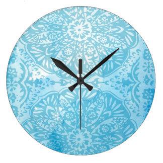 Pineapple Life III Large Clock