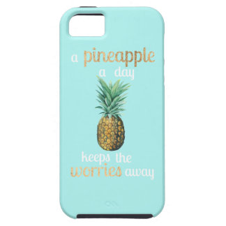 Pineapple Life Quote Case For The iPhone 5