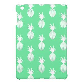 Pineapple Mint Pattern iPad Mini Cover