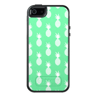 Pineapple Mint Pattern OtterBox iPhone 5/5s/SE Case