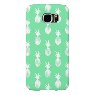Pineapple Mint Pattern Samsung Galaxy S6 Cases