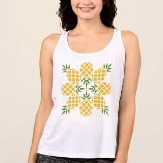 Pineapple Motif Tank Top