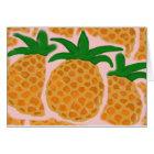 Pineapple Note Card (Hawaiian Series)