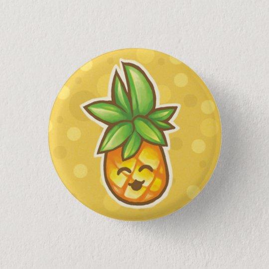 Pineapple^o^ 3 Cm Round Badge