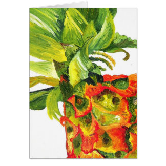 Pineapple Painting (K.Turnbull Art) Card