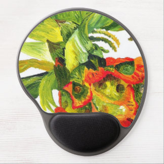 Pineapple Painting (K.Turnbull Art) Gel Mouse Mat