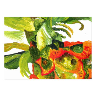Pineapple Painting (K.Turnbull Art) Pack Of Chubby Business Cards