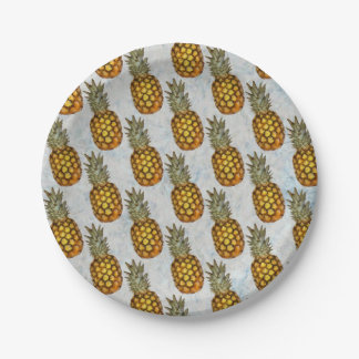 Pineapple Paper Plate